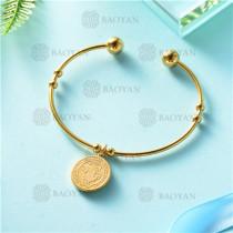 pulsera dorado en acero inixidable-SSBTG26-9135