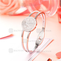 pulsera plateado en acero inoxidable -SSBTG126-8668