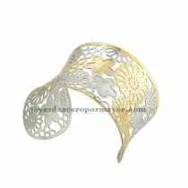 pulsera de flores bonitas en acero inoxdable pra chica -SSBTG213286