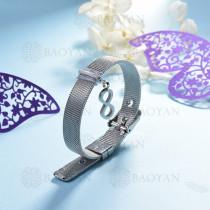 pulsera de charm en acero inoxidable para mujer -SSBTG142-16136-S