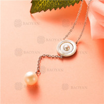 collar de acero inoxidable -SSNEG92-7458