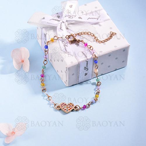 pulsera de Acero Inoxidable multicolor para Mujer -SSBTG142-14698
