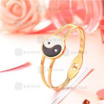 pulsera dorado en acero inoxidable -SSBTG126-8669