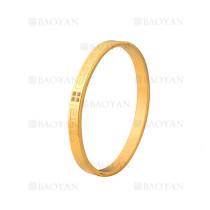 pulsera de moda con cristal de dorado en acero inoxidable-SSBTG1224980