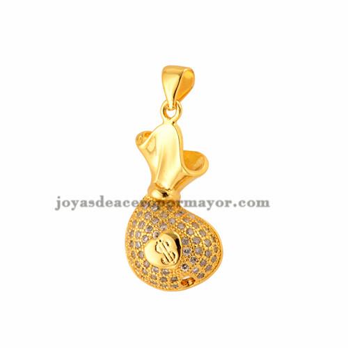charms-para-pulseras  brillo de oro laminado para mujeres -BRPTG72014