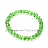 pulsera de bola cristal verde moda para mujer -SSBTG953923