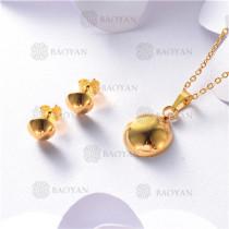 conjunto de dorado en acero inoxidable-SSNEG26-9879
