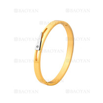 pulsera de moda de dorado en acero inoxidable-SSBTG1225004
