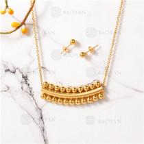 conjunto de dorado en acero inoxidable-SSNEG107-10086