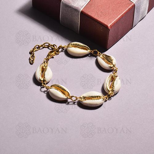 pulsera de concha para mujer -SSBTG142-15130