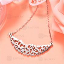 Collar de Acero Inoxidable -SSNEG129-7484