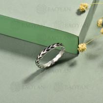 anillos de acero inoxidable para mujer -SSBTG40-15283