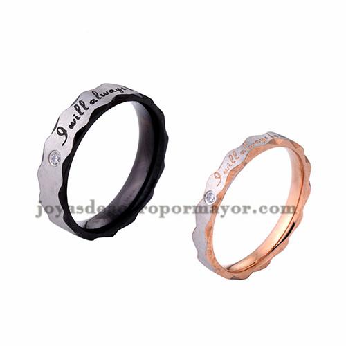 anillo forma moda especial en acero inoxidable para amantes -SSRGG971723