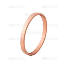 pulsera de moda de oro rosado en acero inoxidable-SSBTG1224998
