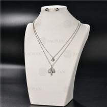 Collar Multicapa en AceroSSNEG126-4907