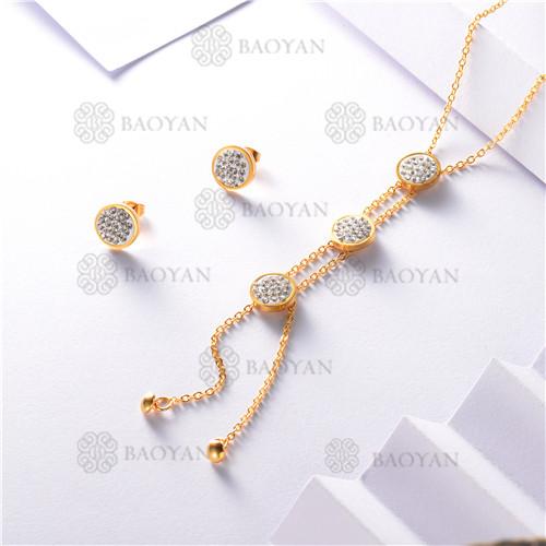conjunto de dorado en acero inoxidable-SSNEG126-9895
