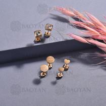 aretes de acero inoxidable para mujerSSEGG175-15656