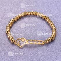 Pulsera con Bolitas Oro Dorado Para Mujer -SSBTG95-6297