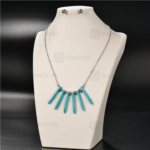 Collar Multicapa en AceroSSNEG126-4918
