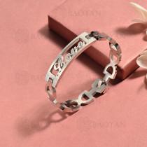 pulsera de acero inoxidable para mujer -SSBTG174-15415