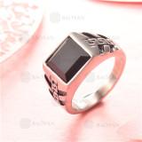 anillo de acero inoxidable para hombre -SSRGG97-2290