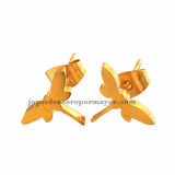 arete de dagonfly en acero dorado por mayor -SSEGG492145