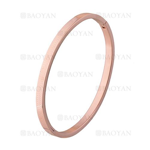 pulsera moda rosado en acero inoxidable -SSBTG1225565