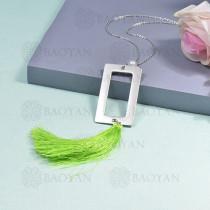 collar de borla en acero inoxidable -SSNEG142-16275