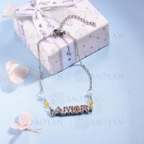 pulsera de Acero Inoxidable multicolor para Mujer -SSBTG142-14697