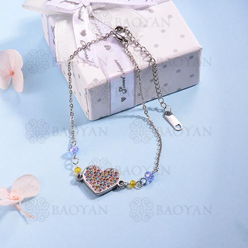 pulsera de Acero Inoxidable multicolor para Mujer -SSBTG142-14702