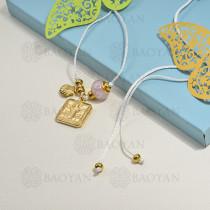 collar de charms en acero inoxidable -SSNEG142-16211