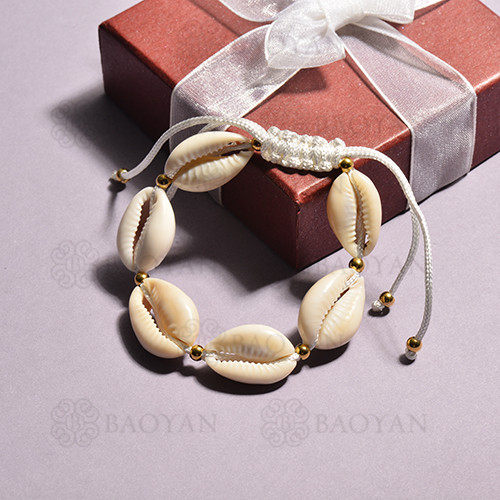 pulsera de concha para mujer -SSBTG142-15127