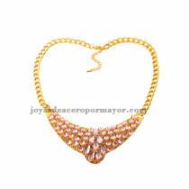 Collares de fantasia con piedra por mayor venta online para mujeres -ACNEG73006
