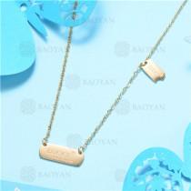 Collar de Acero Inoxidable -SSNEG129-7562