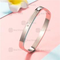 Pulsera de Acero Inoxidable para Mujer -SSBTG122-6684
