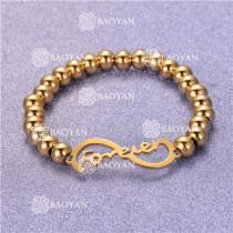 Pulsera con Bolitas Oro Dorado Para Mujer -SSBTG95-6263