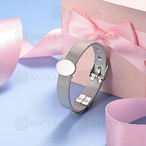 pulsera de charm en acero inoxidable para mujer -SSBTG142-16133-S