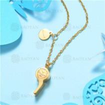Collar de Acero Inoxidable -SSNEG129-7546