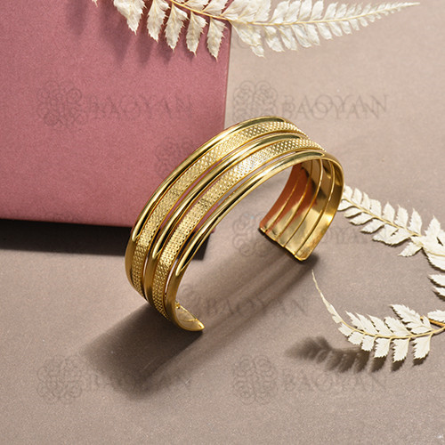 stainless steel bangle for women -SSBTG170-15624
