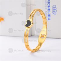 pulsera dorado en acero inoxidable-SSBTG40-9269
