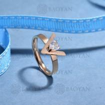anillos de acero inoxidable para mujerSSRGG175-15693
