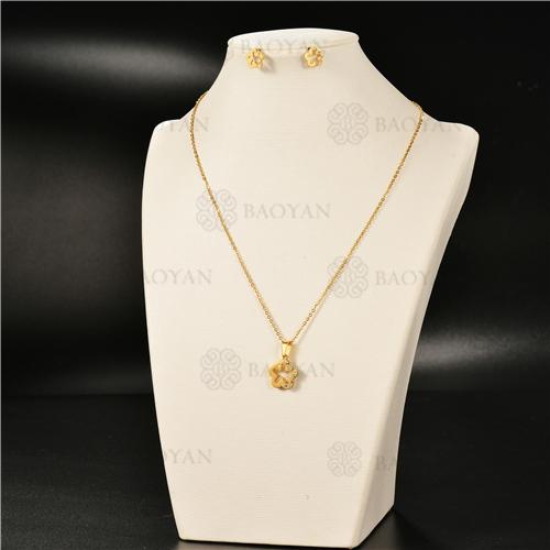 Collar Multicapa en AceroSSNEG126-4949