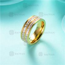 anillo de piedra en acero inoxidable-SSRGG80-2468