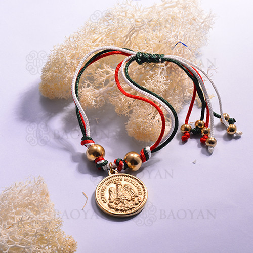 pulsera de bandera mexicana para Mujer -SSBTG142-14960