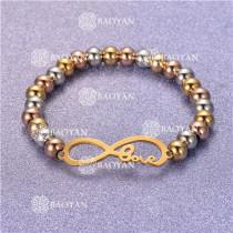 Pulsera con Bolitas Oro Dorado Para Mujer -SSBTG95-6260
