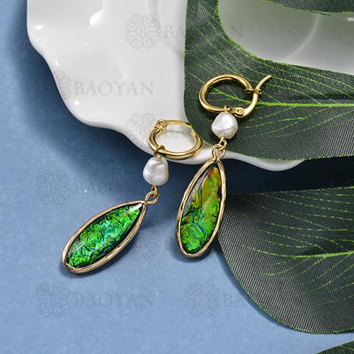 pendientes de opal -SSEGG142-15528