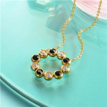 collar de acero inoxidable-SSNEG143-10162