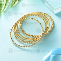 pulsera dorado en acero inixidable-SSBTG26-9127