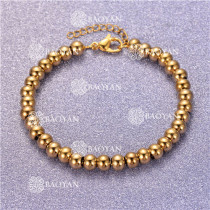 Pulsera con Bolitas Oro Dorado Para Mujer -SSBTG95-6322