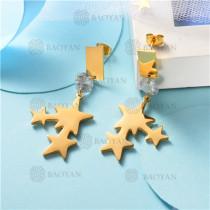 Aretes de Acero Inoxidable -SSEGG139-8486